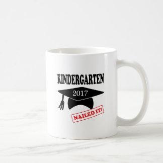 Kindergarten 2017 nagelte es kaffeetasse