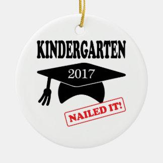 Kindergarten 2017 nagelte es keramik ornament