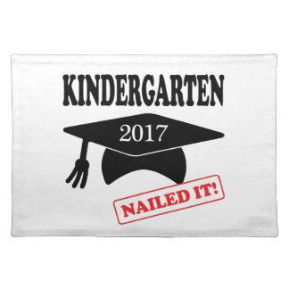 Kindergarten 2017 nagelte es stofftischset