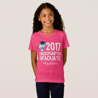 Kindergarten-Abschluss-niedliche Gewohnheit 2017 T-Shirt