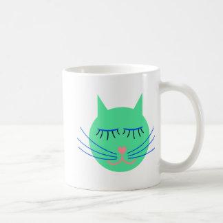 Kindergarten Katze cat Kaffeetasse