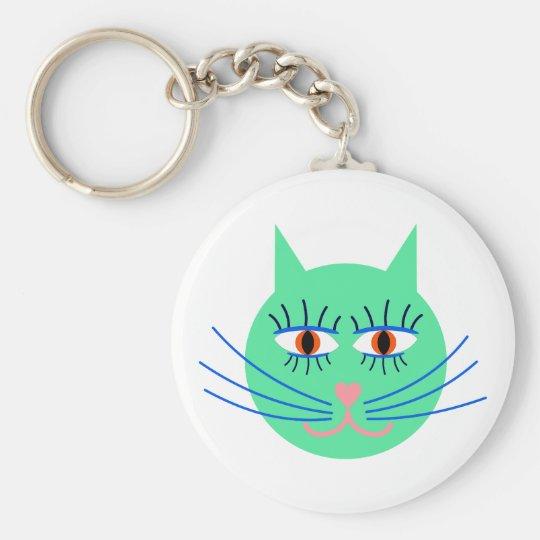 Kindergarten Katze cat Schlüsselanhänger