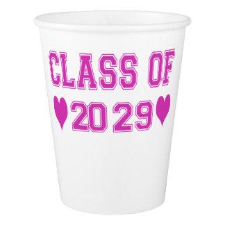 Kindergarten-Klasse von 2029 Pappbecher