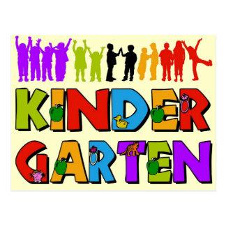 Kindergarten-Spaß Postkarten