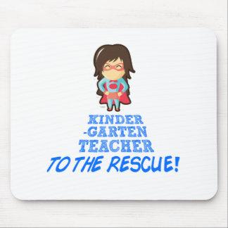 Kindergärtnerin, Superheld-Lehrer Mousepad