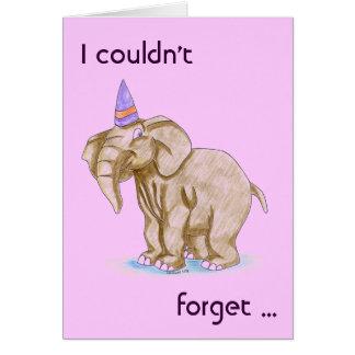 Kindergeburtstag-Party danken Ihnen/Kitschy Dank Grußkarte