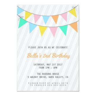 Kindergeburtstag-Party Einladung
