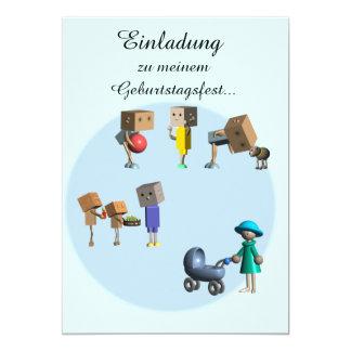 kindergeburtstags einladung