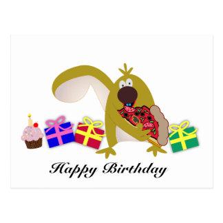 Kindergeburtstagthemen: Eichhörnchen 041 Postkarte