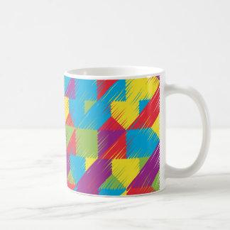 KinderGekritzel-Muster Kaffeetasse