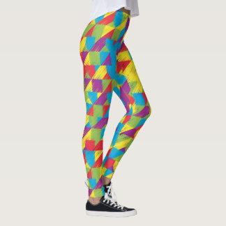 KinderGekritzel-Muster Leggings