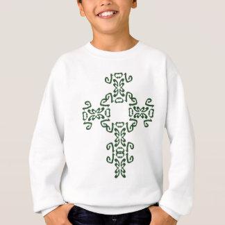 Kindergrünes irisches keltisches sweatshirt