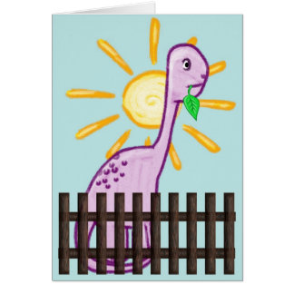 Kindergruß-Karte Grußkarte