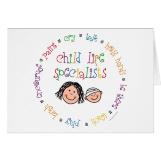 Kinderleben-Spezialisten Notecard Karte