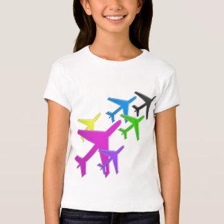 KINDERLiebe Flugzeug avion Vol. voyageurs Hemden