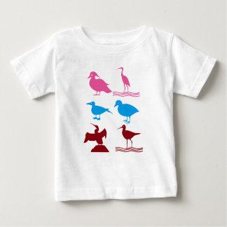 KINDERLiebe Vögel fliegen Haustier-wilde Tiere Baby T-shirt