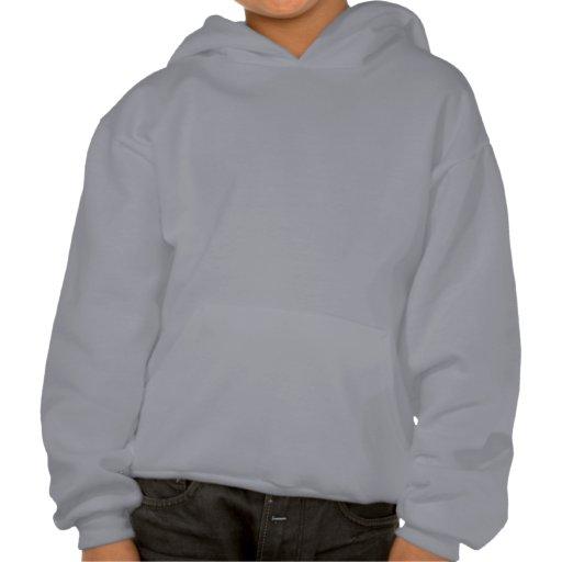 Kinderlustiges Cowboy-Cartoon-T-Shirt Kapuzensweatshirts