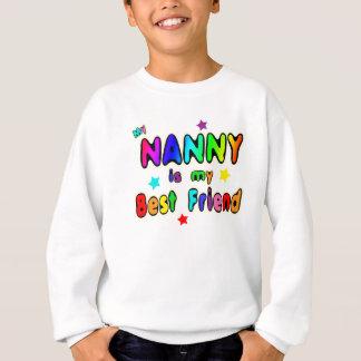 Kindermädchen-bester Freund Sweatshirt