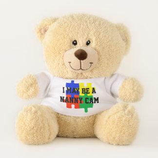 Kindermädchen-Kamera-reizender Kinderwächter Teddybär