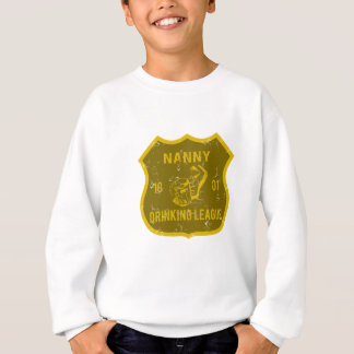 Kindermädchen-trinkende Liga Sweatshirt