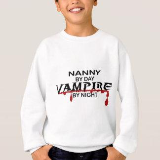 Kindermädchen-Vampir bis zum Nacht Sweatshirt