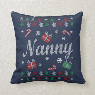 Kindermädchen-Weihnachten Kissen