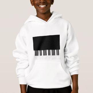 Kindermit kapuze Sweatshirt-Klavier-Tastatur Hoodie