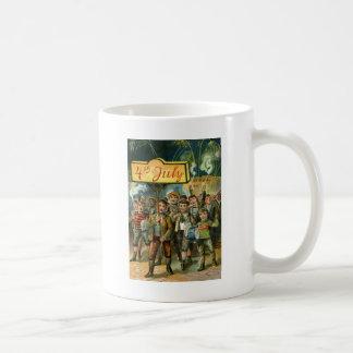 Kinderparade-Feuerwerks-Kracher Kaffeetasse