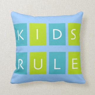 Kinderregel-Wurfskissen Kissen