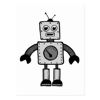 Kinderroboter Postkarte