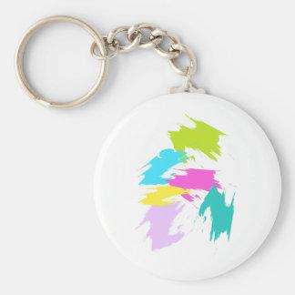 Kinders-Kunst - Gefühl 6 Schlüsselanhänger