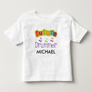 Kinders-Schlagzeuger-Musik-Zitat-zukünftiger Kleinkind T-shirt