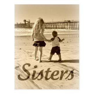 Kinderschwestern Postkarte