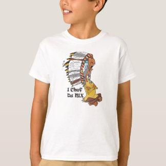 Kindershirt Motiv:  Indianerhäuptling T-Shirt
