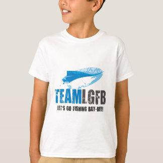 Kinderspeerfisch-Reihen-T - Shirt
