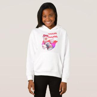 Kinderstädtische Kleidung: Mädchen-Gewohnheit Hoodie