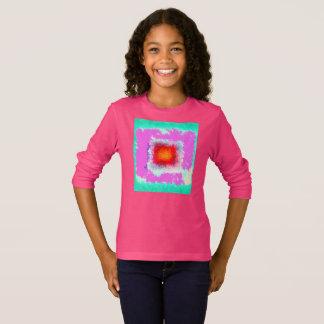 KinderSweatshirt-Mädchen-Sweatshirt Vorlagen-Kunst T-Shirt