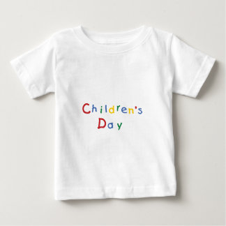 Kindertag Baby T-shirt