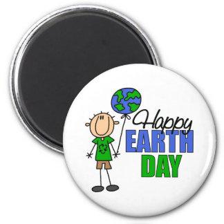 KinderTag der Erde-Geschenk Runder Magnet 5,7 Cm