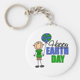 KinderTag der Erde-Geschenk Standard Runder Schlüsselanhänger