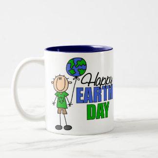 KinderTag der Erde-Geschenk Zweifarbige Tasse