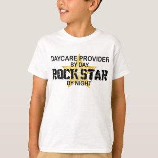 Kindertagesstätten-Anbieter-Rockstar T-Shirt