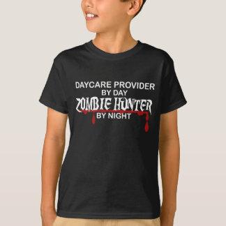 Kindertagesstätten-Anbieter-Zombie-Jäger T-Shirt