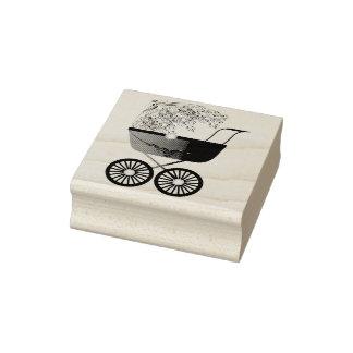 Kinderwagen-Wagen Gummistempel