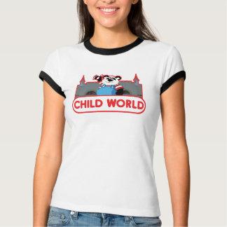 Kinderweltmädchen-Wecker-T - Shirt