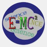 Kinderwissenschafts-T-Shirts und Kindergeschenke Runder Aufkleber