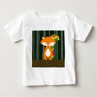 Kinderzimmer Automn Fox-Entwurf Baby T-shirt