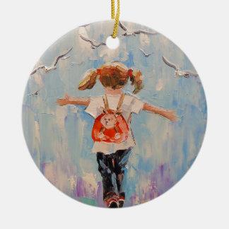 Kindheit Keramik Ornament