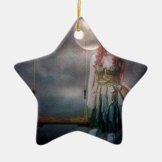 KINDHEITS-ERINNERUNGEN IMMER MIT IHR KERAMIK Stern-Ornament