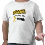 Kindheits-Krebs-Neigung schüchtern mich ein, den i Tshirts
